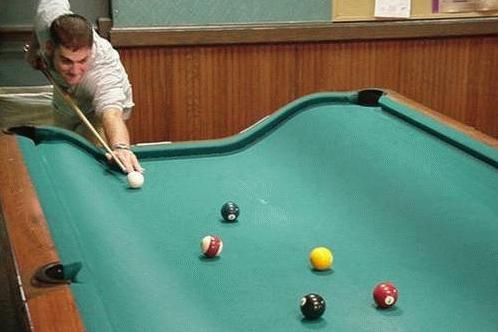 Billard Un Peu Bizard | Billiards | Pinterest | Pool Table, Men Cave And  Tables